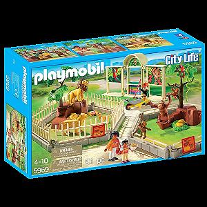 Playmobil 5969 - Jardim Zoológico Playset