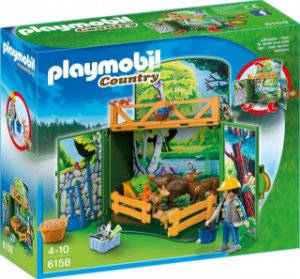 Playmobil 6158 - Playbox Minha Floresta Secreta