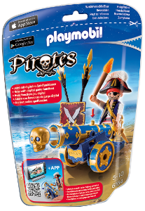 Playmobil 6164 - Soft Bags Dos Piratas
