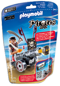 Playmobil 6165 - Soft Bags Dos Piratas