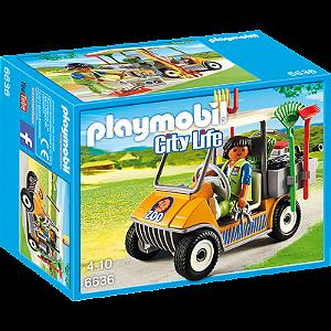 Playmobil 6636 - Veículo De Cuidados De Animais