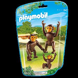 Playmobil 6650 - Saquinho Com Animais Do Zoo Pequenos