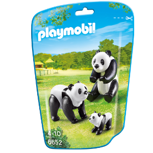 Playmobil 6652 - Saquinho Com Animais Do Zoo Pequenos