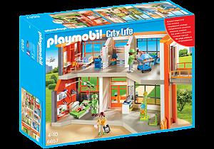 Playmobil 6657 - Unidade Hospitalar Infantil