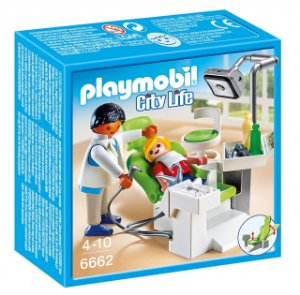 Playmobil 6662 - Dentista com Paciente