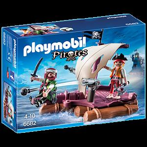 Playmobil 6682 - Jangada Dos Piratas