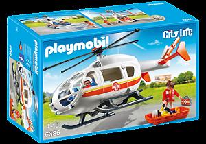 Playmobil 6686 - Helicóptero da Emergência Médica