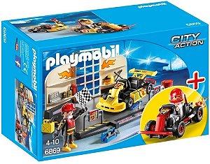 Playmobil 6869 - Oficina de Carro de Corrida