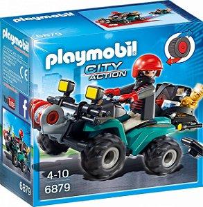Playmobil 6879 - Fugitivo com Quadricíclo