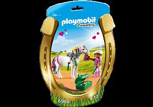 Playmobil 6969 - Soft Bags Poney's