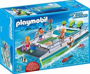 Playmobil 9233 - Barco com visão submarina e motor
