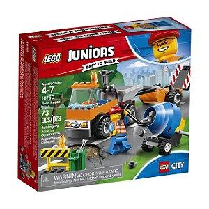 LEGO Juniors - Caminhão de Reparação das Estradas 10750