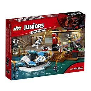 LEGO Juniors - A Perseguição de Barco Ninja do Zane 10755