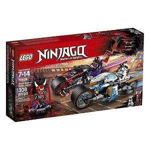 LEGO Ninjago - A Corrida de Rua de Serpente Jaguar 70639