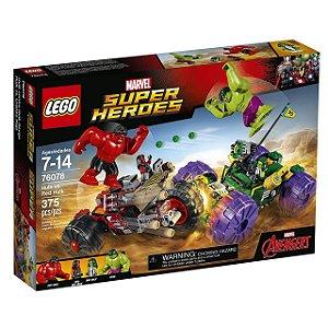 LEGO Super Heroes - Hulk contra Hulk Vermelho 76078