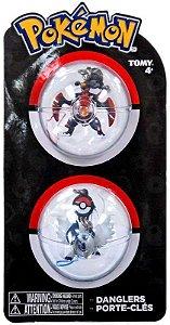 Pokémon Chaveiro - Mega Garchompt E Mega Absol