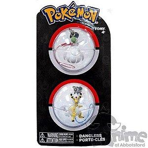Pokémon Chaveiro - Gardevoir E Mega Ampharos