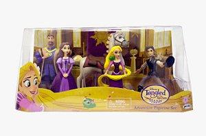 Playset Domo Com Figuras Rapunzel