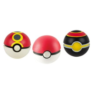 Pokémon Pokebola - Poke Ball, Repeat Ball & Luxury Ball Pack com 3