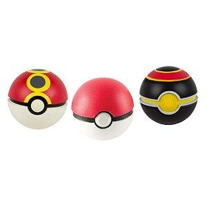 Pokémon Pokebola - Poke Ball, Repeat Ball & Luxury Ball Pack com 3