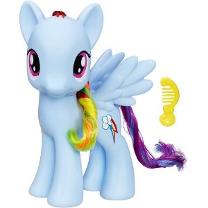 Figura My Little Pony 20 Cm Princesas - Rainbow Dash