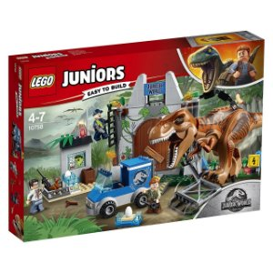 LEGO Juniors - Jurassic World Fuga de T-rex 10758