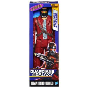Boneco Titan Hero Guardians of Galaxy: Star Lord 30cm