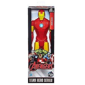 Boneco Titan Hero Avengers Iron Man 30 cm