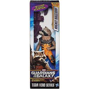 Boneco Titan Hero Guardians of Galaxy: Rocket Racoon 18cm