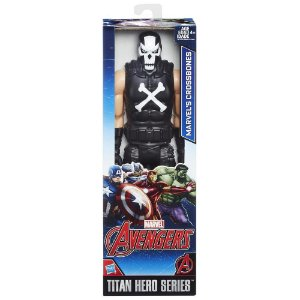 Boneco Marvel Titan Hero Series Crossbones 30 cm
