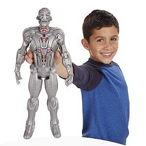 Boneco Titan Hero Avengers Ultron Eletrônico 30 cm