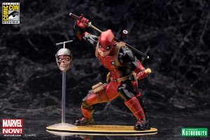 ArtFX + Marvel Deadpool Chimichanga 2015 SDCC Exclusive 1/10 Statue