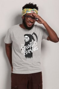 Camiseta Haunted by Humans