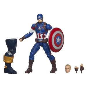 Marvel Legends Infinite Series Thanos - Captain America