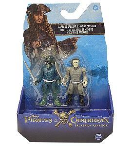 Piratas do Caribe Blister com 2 figuras sortidas - Captain Salazar