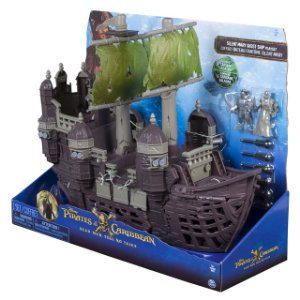Piratas do Caribe Playset Navio Fantasma The Silent Mary