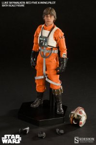 Star Wars Luke Skywalker Red Five X-wing Pilot - 1/6 Figure