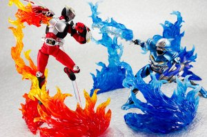 Tamashii Effect Burning Flame Blue