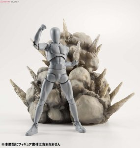 Tamashii Effect Explosion Gray - Display