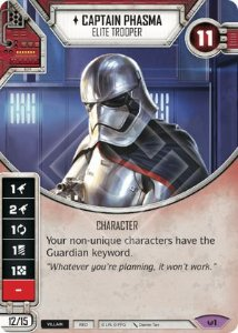 SW Destiny - Captain Phasma Elite Trooper