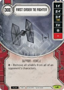 SW Destiny - First Order TIE Fighter
