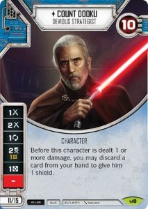 SW Destiny - Count Dooku Devious Strategist