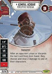 SW Destiny - Admiral Ackbar Perceptive Tactician