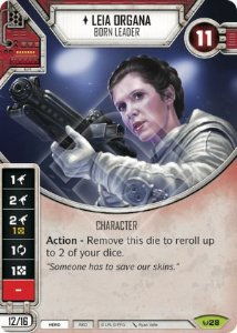 SW Destiny - Leia Organa Born Leader