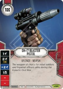 SW Destiny - DH-17 Blaster Pistol