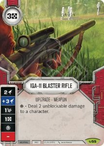 SW Destiny - IQA-11 Blaster Rifle