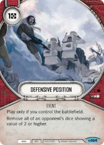 SW Destiny - Defensive Position
