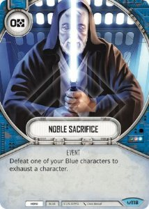 SW Destiny - Noble Sacrifice