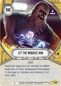 SW Destiny - Let The Wookiee Win