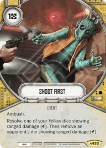 SW Destiny - Shoot First
